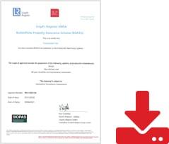 BOPAS Certificate