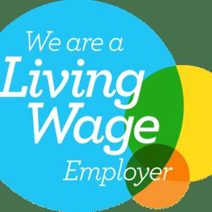 LW Employer logo transparent Accredited Living Wage Employer! Frameclad
