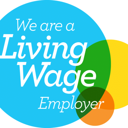 LW Employer logo transparent Accredited Living Wage Employer! Frameclad