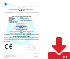 3 CE Certificate2021