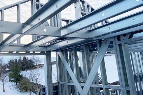 Frameclad Shed Build In Cumbria