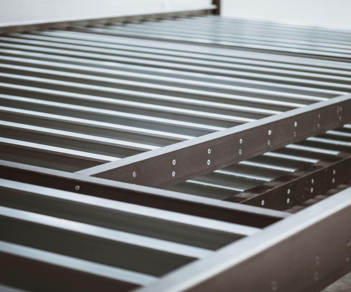 Light Gauge Steel Framing - Modular Construction