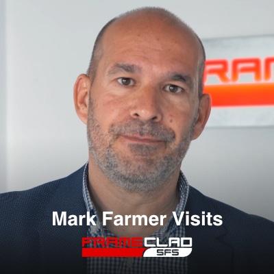Mark Farmer Visits Frameclad