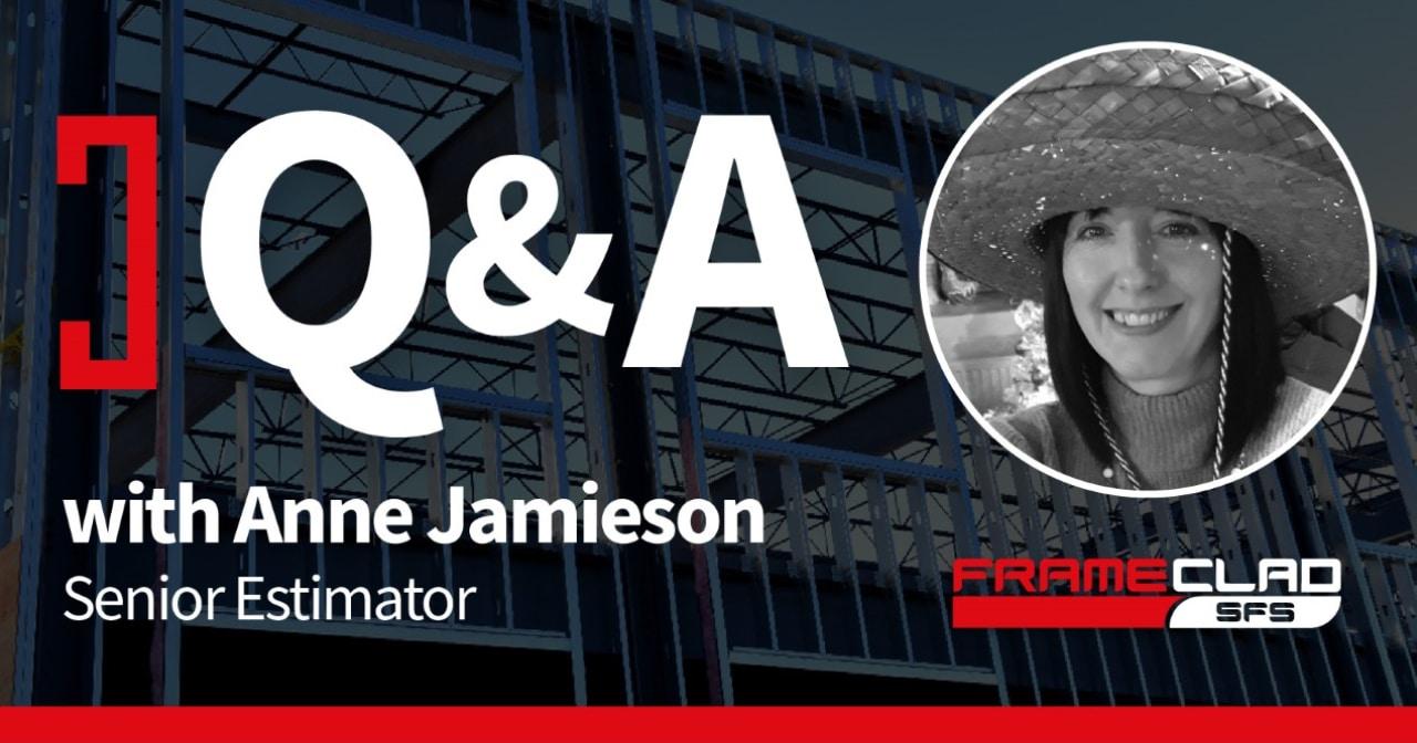 Q&A With Anne Jamieson